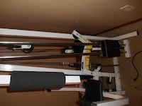 black and gray exercise equipment null