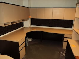 Office furniture complete set must sell make offer
