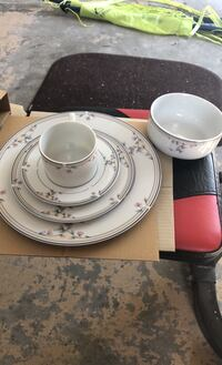 Princess house dinner ser x10 plus more setting plates