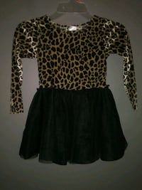 ***GIRL'S SIZE 3T ANIMAL PRINT TUTU OUTFIT!***