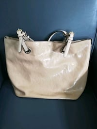 white Michael Kors leather tote bag Louisville, 40299