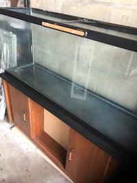 Black and brown fish tank and stand  Lincoln, 02865