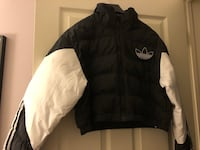 ADIDAS Puff Crop Women's Size M Jacket