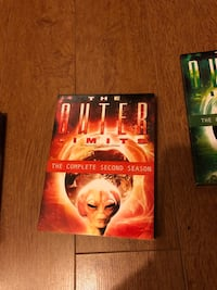 The Outer Limits DVD complete 1st,2nd,3rd Seasons Surrey, V3R 0N3