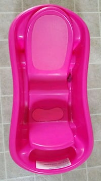 baby's pink bather