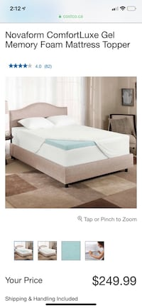 Nova Form Mattress Topper (Queen) Mississauga, L5R 0E4