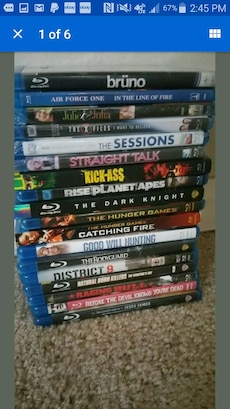 assorted movie collection