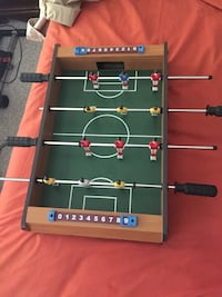 brown and green foosball table Toronto, M6N 2T4