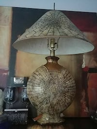 """Imported Moroccan Lamp with finial 36"""" tall Watchung"""
