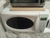 white and black microwave oven Mississauga, L4Z