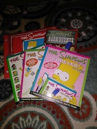 5 Simpsons books very detailed! Middletown, 21769