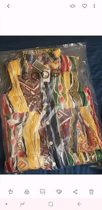 assorted-color-and-print textile lot