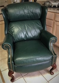 Genuine leather Reclining Chair Potomac