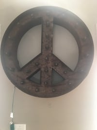 LARGE lighted marquis peace sign Addison, 75001