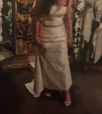 Silk Wedding Gown Size 12 Lorton, 22079