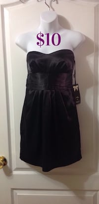 Black Sleeveless Pocket Dress: Size Small (New with tags) Brampton, L7A