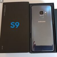 Samsung Galaxy s9- factory unlocked + box and accessories Springfield, 22150