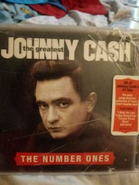 Johnny Cash The Number Ones CD Edgemere, 21219