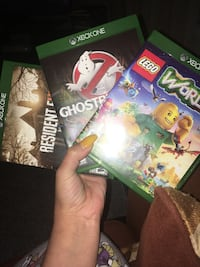 three assorted Xbox One game cases Lethbridge, T1K 7G7