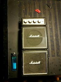 Mini Marshall stack sounds great! Somerville, 35670