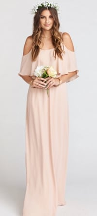 Gorgeous blush dress brand new  Toronto, M5V 2V9