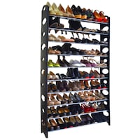 New in Box, 10-Tier Stackable Shoe Rack Storage Shelves Centreville