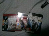 4 video game bundle (Good Condition)
