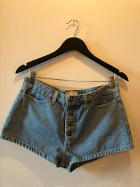 New! American Apparel High Waisted shorts size 30 New Westminster, V3M 7A8
