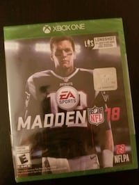 Madden 18 for XBOX One (brand new sealed) Vaughan, L4L