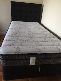 One single bed with the mattress and frame new Toronto, M4J 3S5
