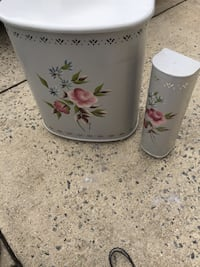 vintage  detecto clothes hamper and toilet brush cover Cherry Hill, 08002
