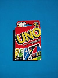 Brand New UNO Color & Number Matching Card Game for 2-10 Pla