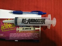 Bam! Box Exclusive Re-Animator Jello Shot Prop Replica Syringe Brant, N0E 1R0