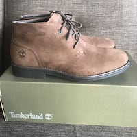NEW Men's Brown Timberland Boots 9.5