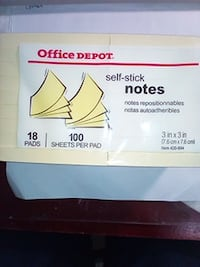 self-stick notes