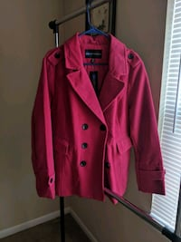 red button-up coat 552 mi