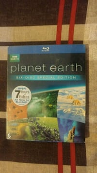 NEW planet earth blue ray