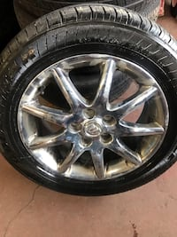 Wheels & tires.  GM mid 2000  BEST OFFER Youngstown, 44511
