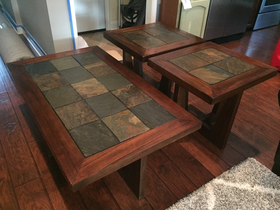 Used Coffee Table And End Tables In Savannah