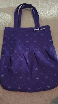 purple leather quilted tote bag Edmonton, T5J