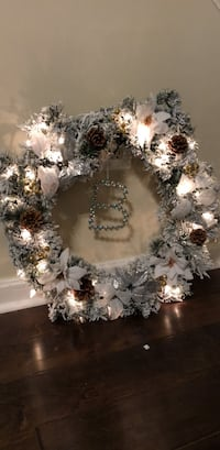 Light up winter wreath Woodbridge, 22192