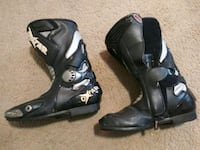OXTAR MOTORCYCLE BOOTS MENS SIZE 10.5 & 11 MADE IN ITALY Salem, 97317