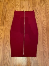 Sirens. Red pencil skirt