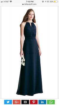 Wine colored bridesmaid dress (size 6) Mansfield, 02048