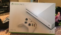 white Xbox One S console box 968 mi
