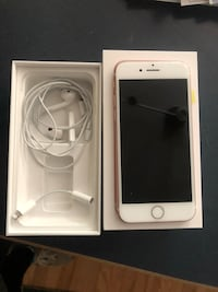 Gold iphone 7, 128GB, like new! Used only 6 months. Set to factory settings. No charging brick or cord.  Burke, 22015