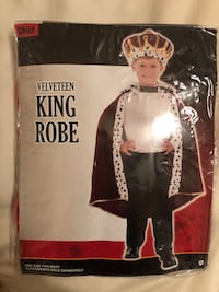 King Robe- Halloween outfit, boy New York, 11379