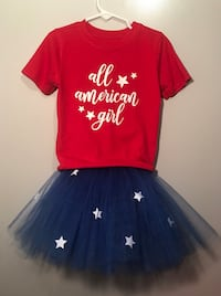 Memorial Day or 4th of July Tutu Shirt set Greencastle, 17225