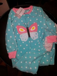 baby's teal and pink bouncer North Las Vegas, 89084