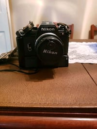 Film camera with flash attachment  Omaha, 68144